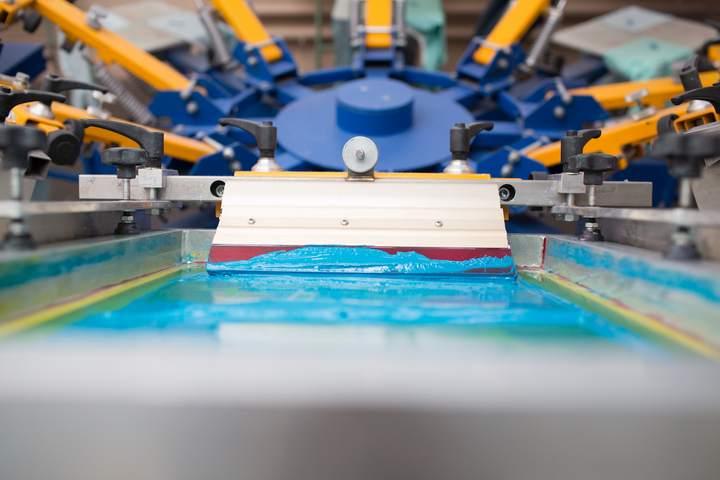 Textile personnalisé par transfert sérigraphique